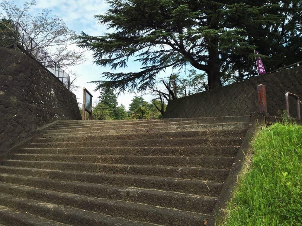 小山城。別名は祇園城、小山氏の居城。本多正純も入封,アイキャッチ画像