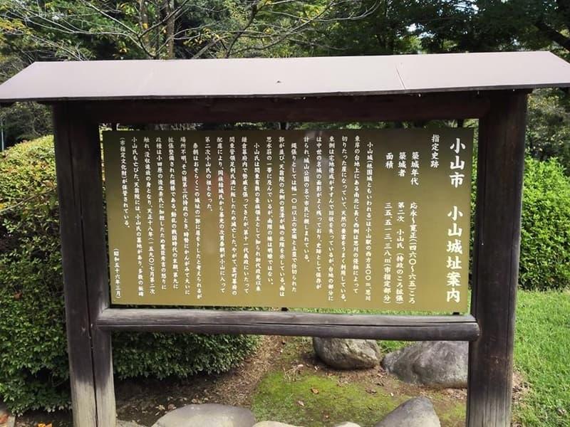 小山城。別名は祇園城、小山氏の居城。本多正純も入封,画像06
