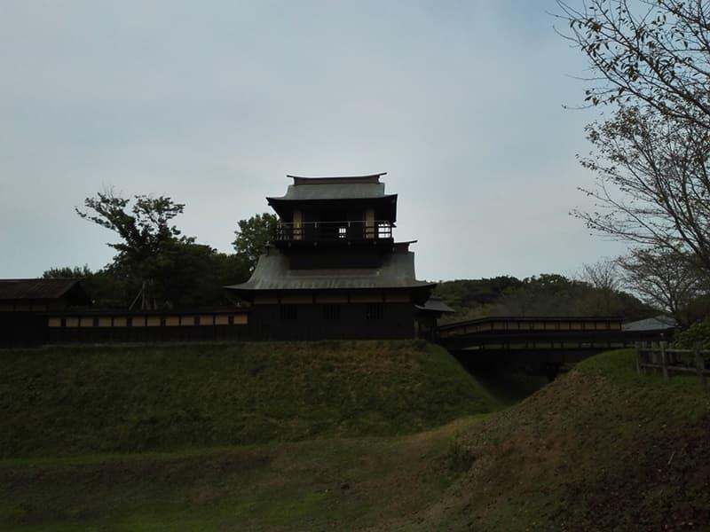 逆井城。後北条氏時代は飯沼城、「真田丸」では海津城のモデル,画像01