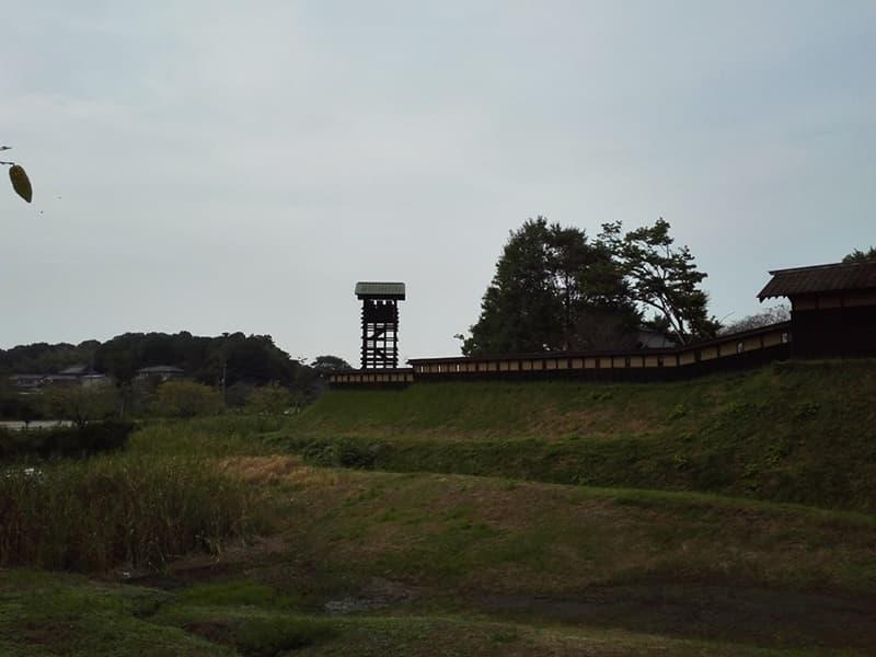 逆井城。後北条氏時代は飯沼城、「真田丸」では海津城のモデル,画像02