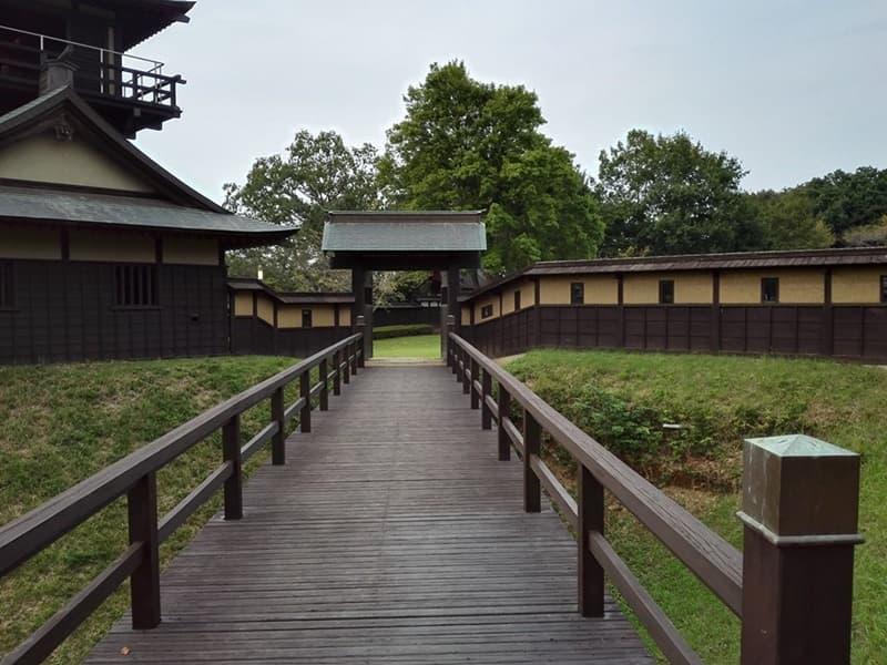 逆井城。後北条氏時代は飯沼城、「真田丸」では海津城のモデル,画像04