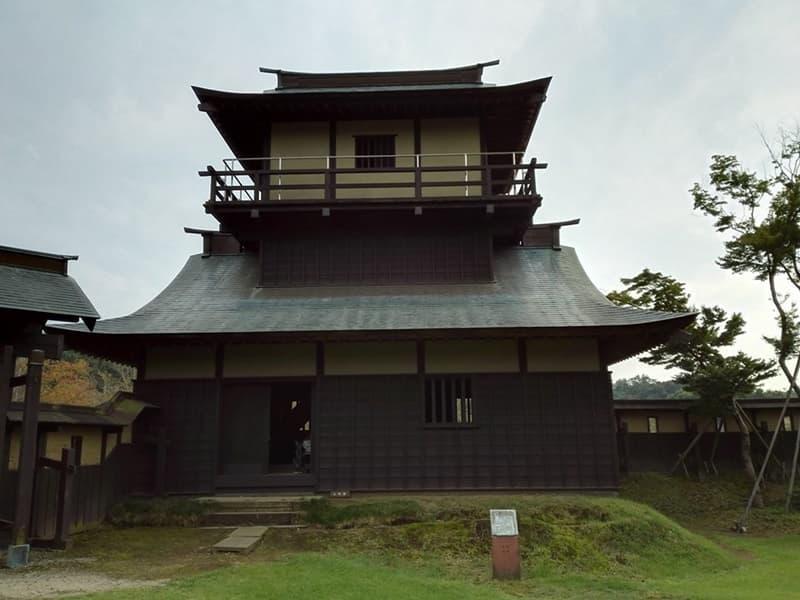逆井城。後北条氏時代は飯沼城、「真田丸」では海津城のモデル,画像05