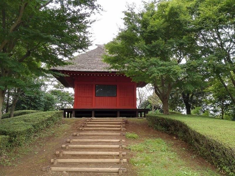 逆井城。後北条氏時代は飯沼城、「真田丸」では海津城のモデル,画像09