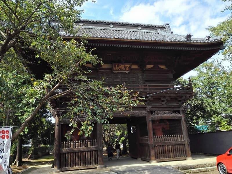 勝願寺。小松姫・仙石秀久の墓、三つ葉葵を許される。鴻巣市本町,画像02