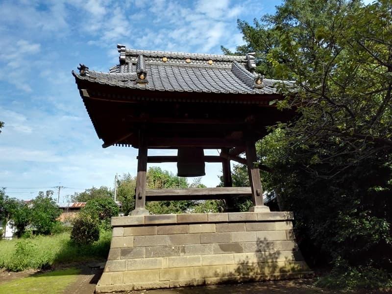 勝願寺。小松姫・仙石秀久の墓、三つ葉葵を許される。鴻巣市本町,画像04