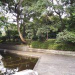 古河城跡・古河城本丸跡。周辺には鷹見泉石記念館・永井路子旧宅も