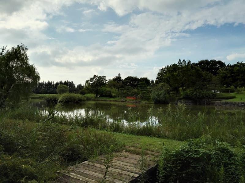 古河公方館。古河御所・鴻巣御所とも呼ばれ、大半は古河総合公園,画像02