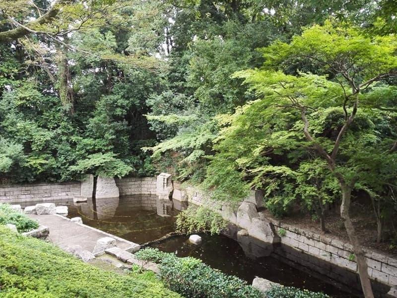 古河城跡・古河城本丸跡。周辺には鷹見泉石記念館・永井路子旧宅も,画像02