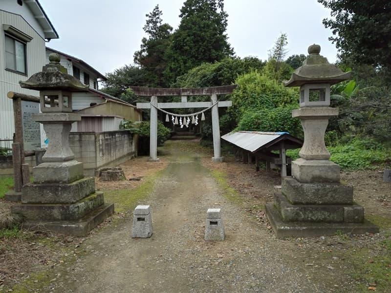 鷲城跡。小山義政の乱においては本城、本丸には鷲神社,画像07