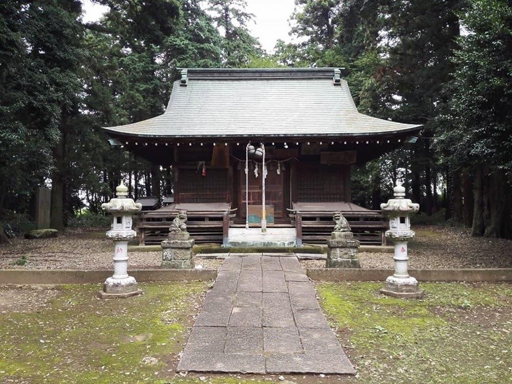 鷲城跡。小山義政の乱においては本城、本丸には鷲神社,アイキャッチ画像