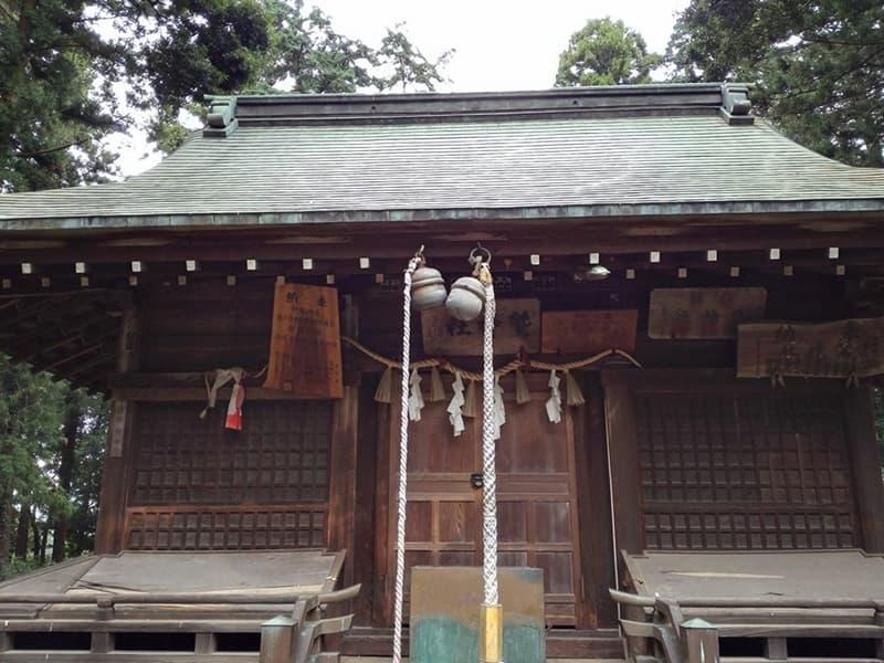 鷲城跡。小山義政の乱においては本城、本丸には鷲神社,画像05