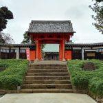正定寺。大老・土井利勝が開基、浄土宗の寺院。茨城県古河市大手町