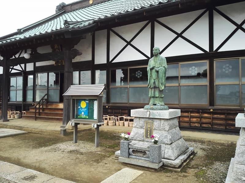 正定寺。大老・土井利勝が開基、浄土宗の寺院。茨城県古河市大手町,画像05