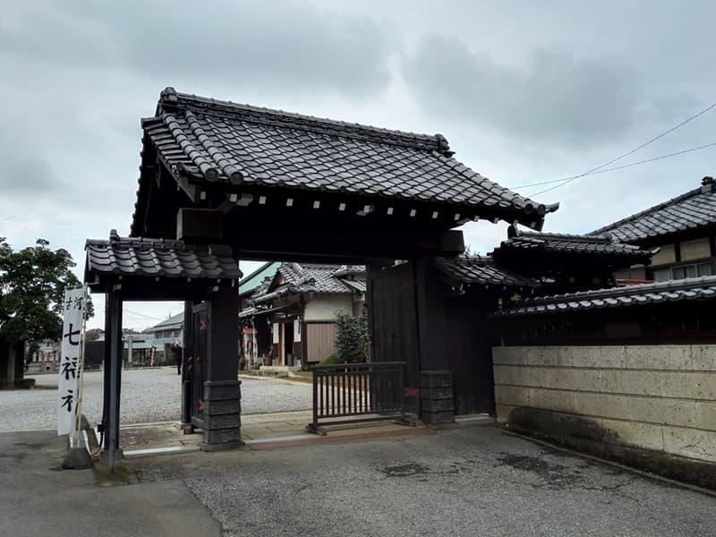 正定寺。大老・土井利勝が開基、浄土宗の寺院。茨城県古河市大手町,画像10