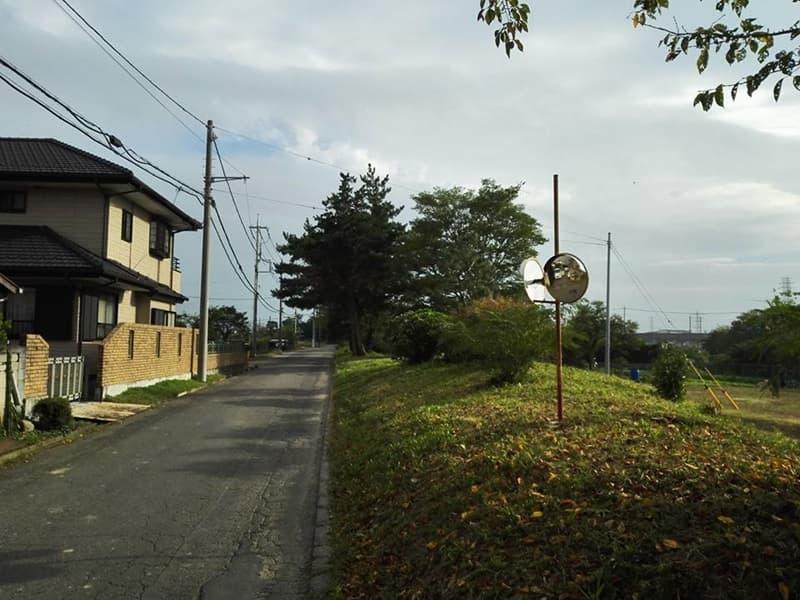 石田堤歴史の広場。石碑は「のぼうの城」エンディングに。行田市堤根,画像03