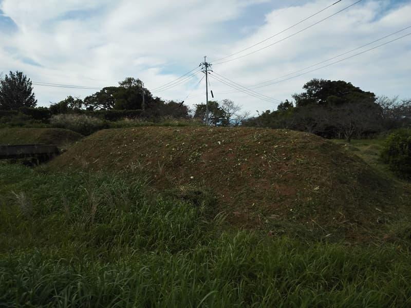 尾高城。捕縛された山中鹿之助幸盛が下痢と偽り脱出、米子市尾高,画像13