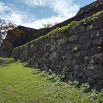米子城。別名は久米城・湊山金城、江戸時代初期には米子騒動の舞台に