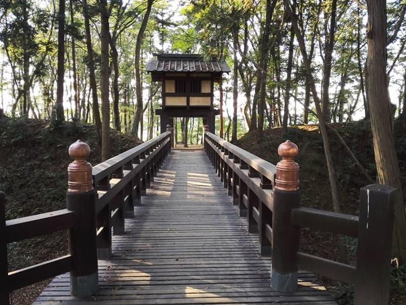 逆井城。後北条氏時代は飯沼城、「真田丸」では海津城のモデル,画像0102