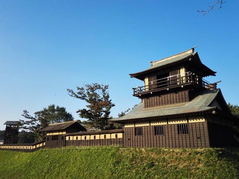 逆井城。後北条氏時代は飯沼城、「真田丸」では海津城のモデル,画像0105