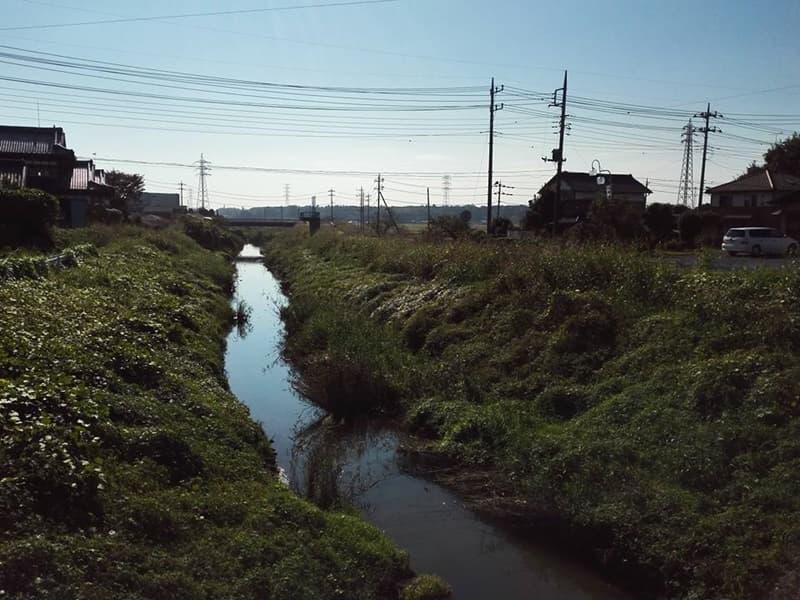思案橋。静御前が源義経を追い行き先を思案したとの伝承。古河市下辺見,画像07
