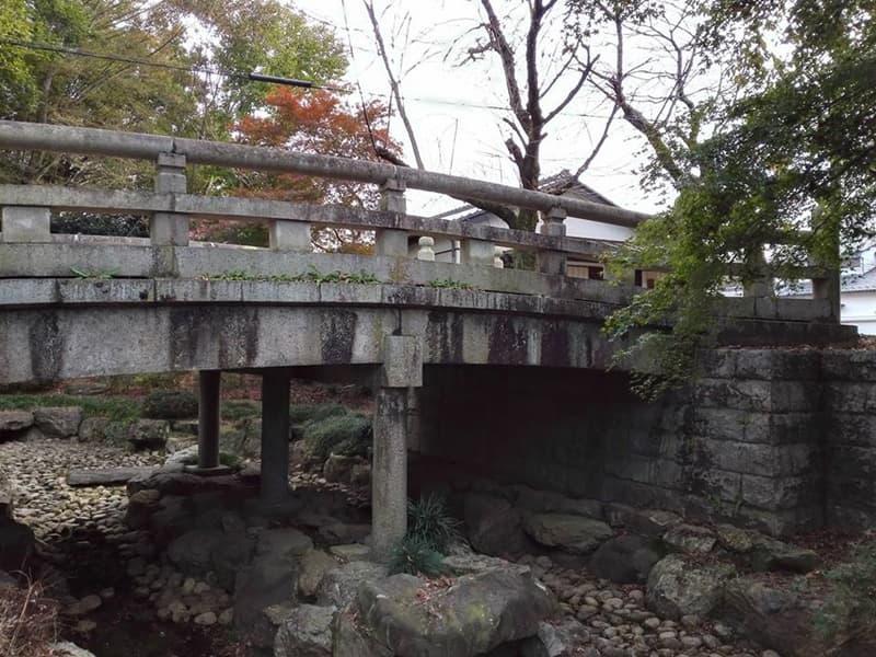 結城埋蔵金伝説。金光寺山門の和歌、城跡公園近くの「みかつきはし」,画像17