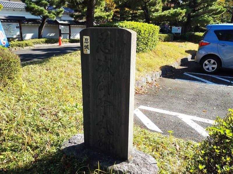 忍城・丸墓山古墳。忍城の戦いは日本三大水攻め、黄色い彼岸花,画像0101