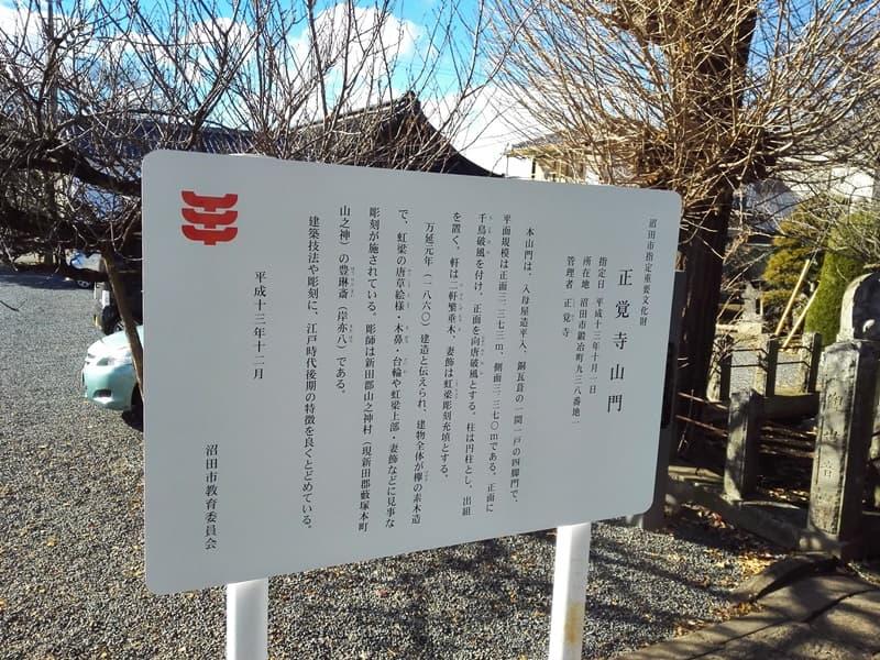 正覚寺。大蓮院殿(小松姫)の墓、鈴木主水が境内で自刃。沼田市鍛冶町,画像08
