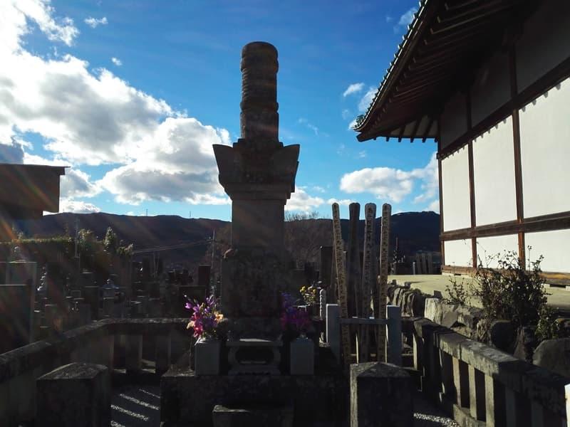 正覚寺。大蓮院殿(小松姫)の墓、鈴木主水が境内で自刃。沼田市鍛冶町,画像06