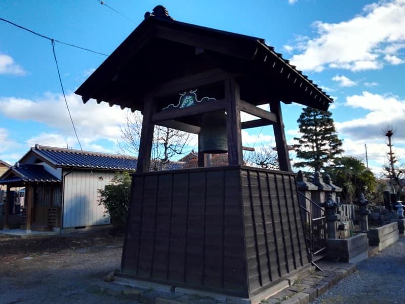 正覚寺。大蓮院殿(小松姫)の墓、鈴木主水が境内で自刃。沼田市鍛冶町,画像01