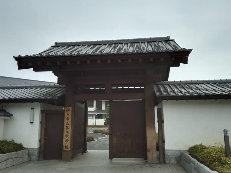 水戸城,徳川御三家,水戸徳川家,薬医門,徳川光圀,画像5
