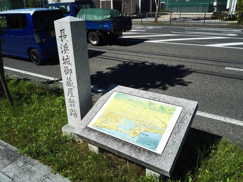 長浜城,羽柴秀吉,今浜城,石田三成,三献の茶,画像13